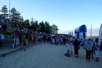 Crowds at Cottesloe Beach