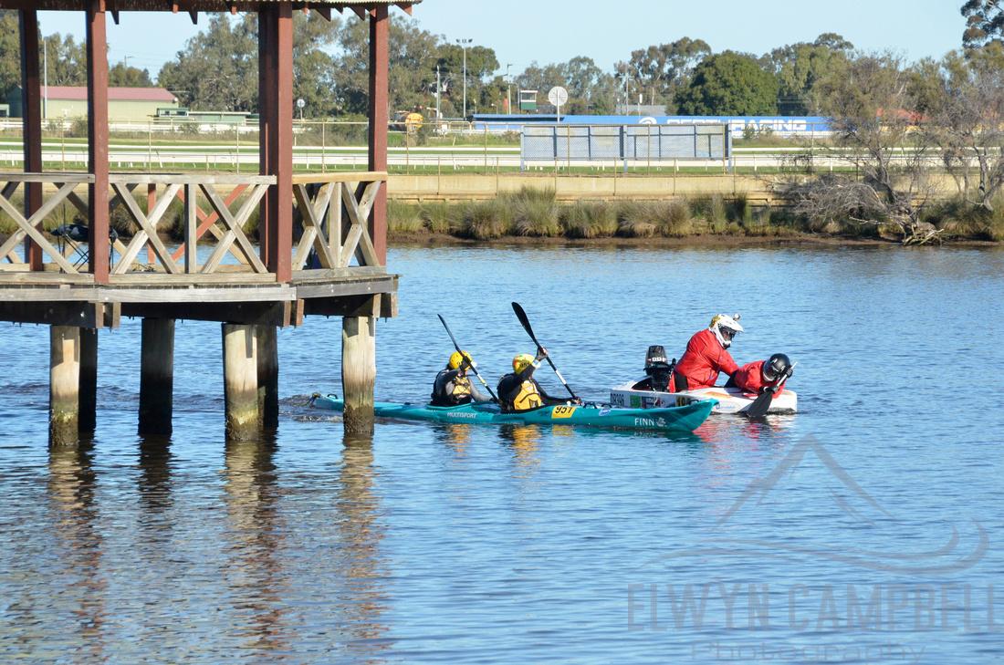 Finish at Bayswater, Swan River