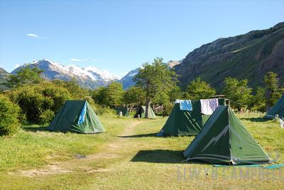 El Chaiten campsite