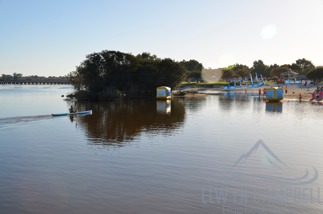 Finish at Bayswater, Swan River