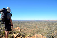 Looking back to Alice Springs