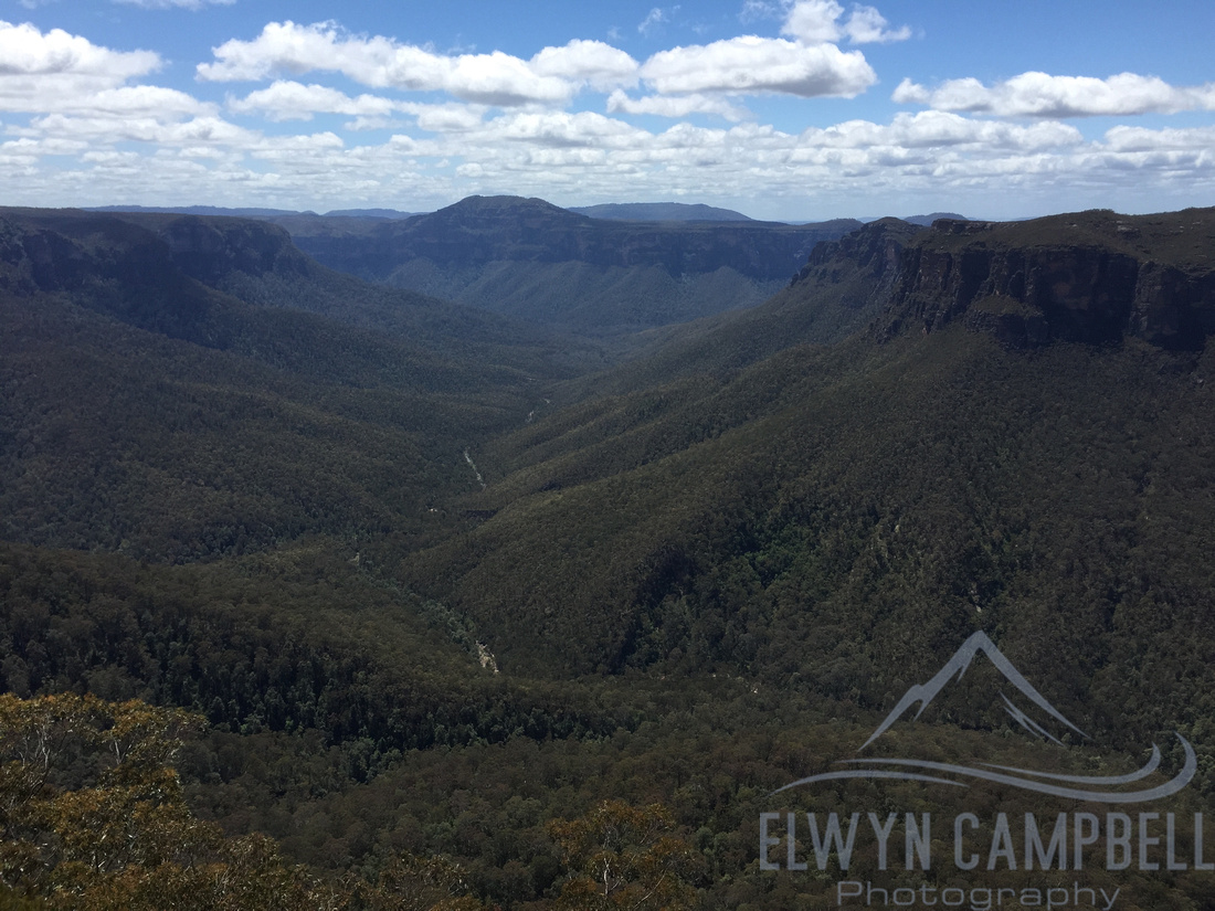 View from Evans Lookout